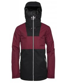 WEARCOLOR Mens Block Jacket Burgundy -743 (17/18)