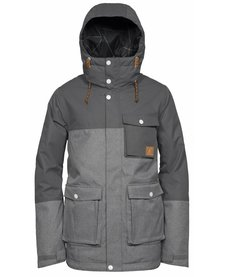 WEARCOLOR Mens Horizon Jacket Grey Melange -801 (17/18)