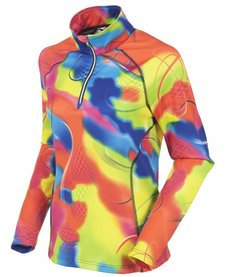 Sunice Womens Ski Lodge Lightweight Thermal Pullover Pnk 220 Fantasy - (17/18)