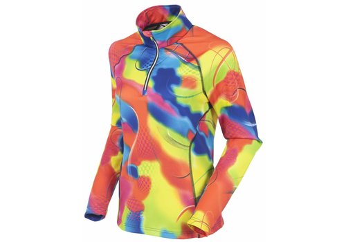 SUNICE Sunice Womens Ski Lodge Lightweight Thermal Pullover Pnk 220 Fantasy - (17/18)