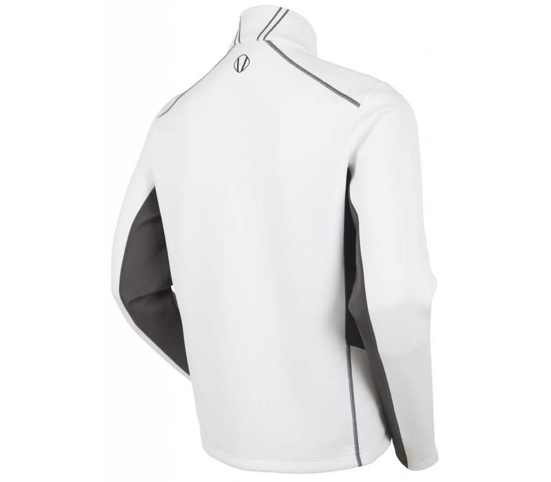 Sunice Mens Patrol 1/4 Zip Pullover Whi 801 White/Carbon - (17/18)