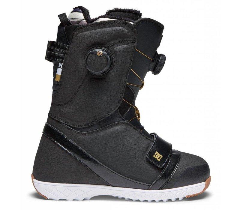 DC Womens Mora Snowboard Boot Bg3 Black/Gold - (17/18)