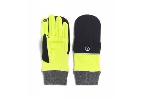 Brume Brume Womens Tremblant Flip Glove Yellow -47 (17/18) OS