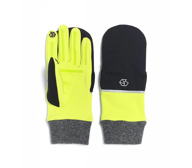 Brume Womens Tremblant Flip Glove Yellow -47 (17/18) OS