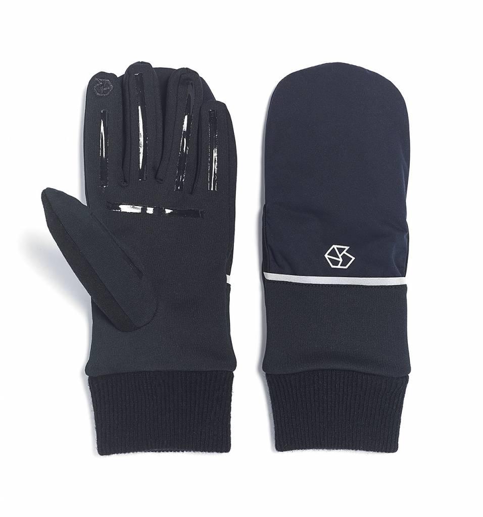 Brume Brume Womens Tremblant Flip Glove Black -01 (17/18) OS