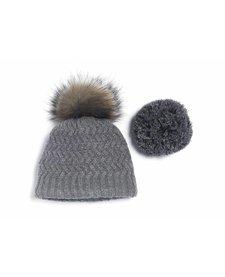 Brume Womens Fairweather Hat Med. Grey -37H (17/18) HOS