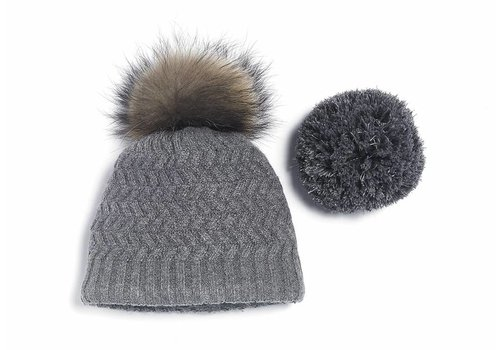 Brume Brume Womens Fairweather Hat Med. Grey -37H (17/18) HOS