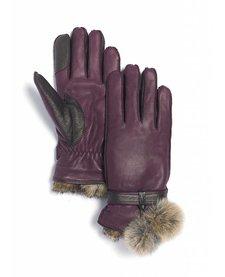 Brume Womens Whistler Glove Burgundy -18 (17/18)