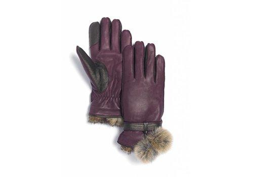 Brume Brume Womens Whistler Glove Burgundy -18 (17/18)