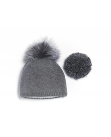Brume Womens North Twin Hat Med. Grey -37H (17/18) HOS