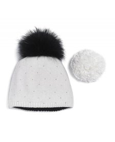 Brume Womens North Twin Hat Off White -97 (17/18) OS