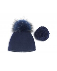Brume Womens North Twin Hat Navy -09 (17/18) OS