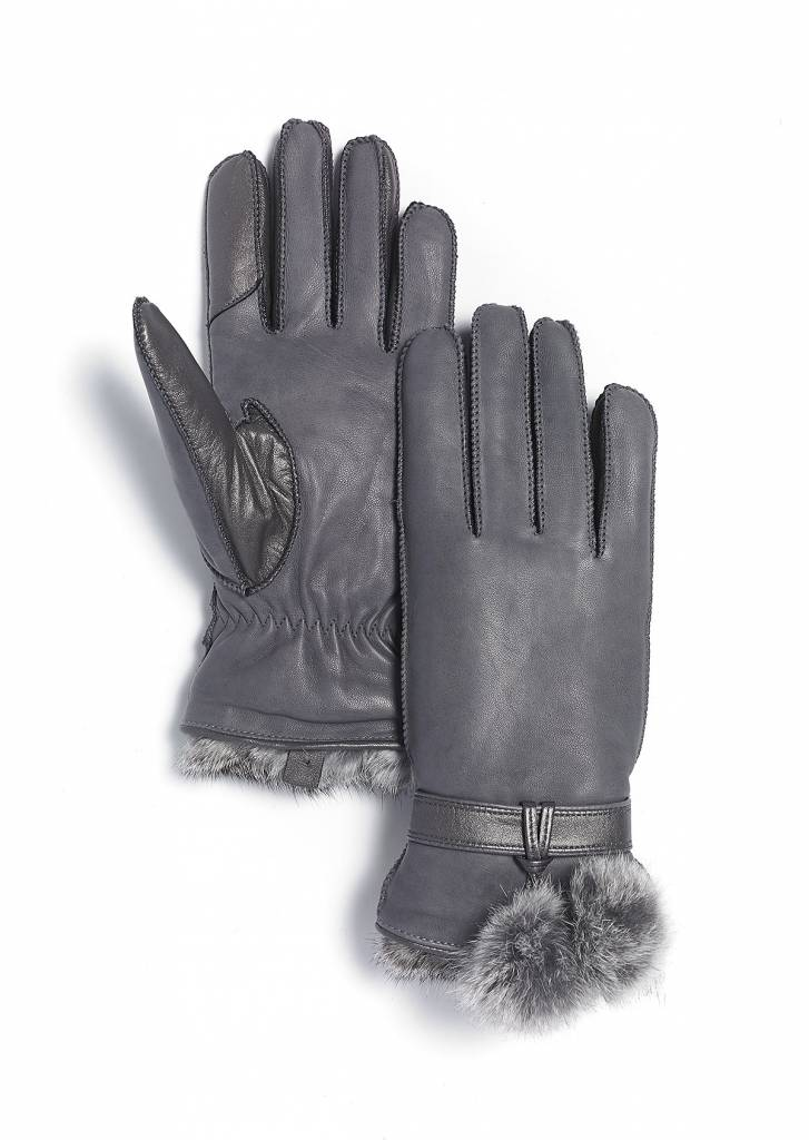 Brume Brume Womens Whistler Glove Grey -37 (17/18)