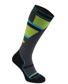 Bridgedale Junior Mountain Junior Sock Grey/Green -068 (17/18)