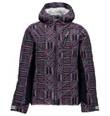 SPYDER Spyder Girls Hottie Jacket 423 Baltic Geo Print/Frontier - (17/18)