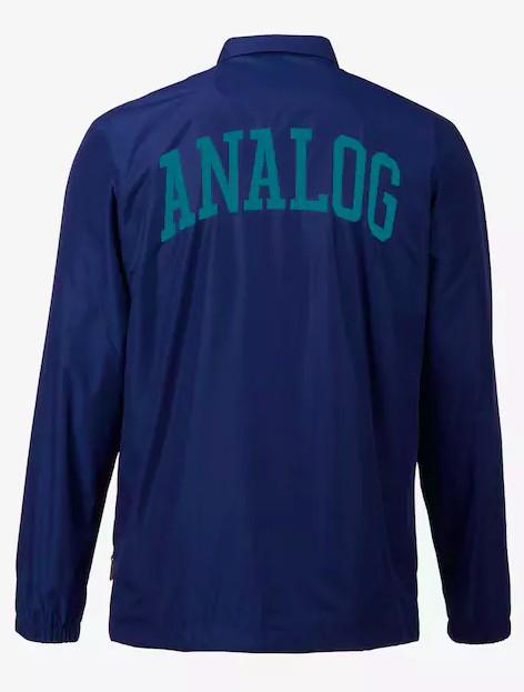 ANALOG Analog Mens Campton Coaches Jacket Deflate Gate -400 (17/18)
