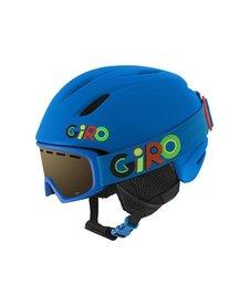 Giro Jr Launch Combo Pack Helmet Matte Blue Wild - (17/18)