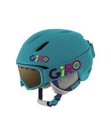 Giro Jr Launch Combo Pack Helmet Matte Marine Wild - (17/18)