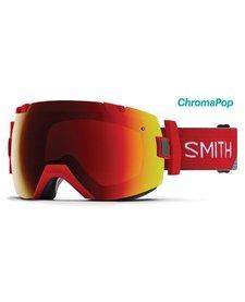 Smith Mens I/Ox Goggle Fire Split -Chromapop Sun Red Mirror (17/18) CHROMAPOP STORM ROSE FLASH BONUS LENS