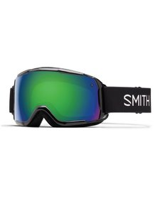 Smith Jr Grom Goggle Black -Green Sol-X Mirror (17/18)