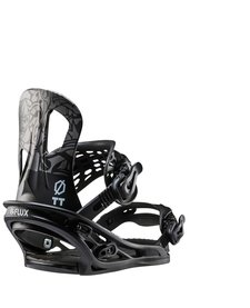 Flux Mens Tt Snowboard Binding Black - (17/18)