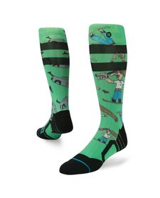 Stance Mens Dad Cam Chris Grenier Sock Green -Grn (17/18)