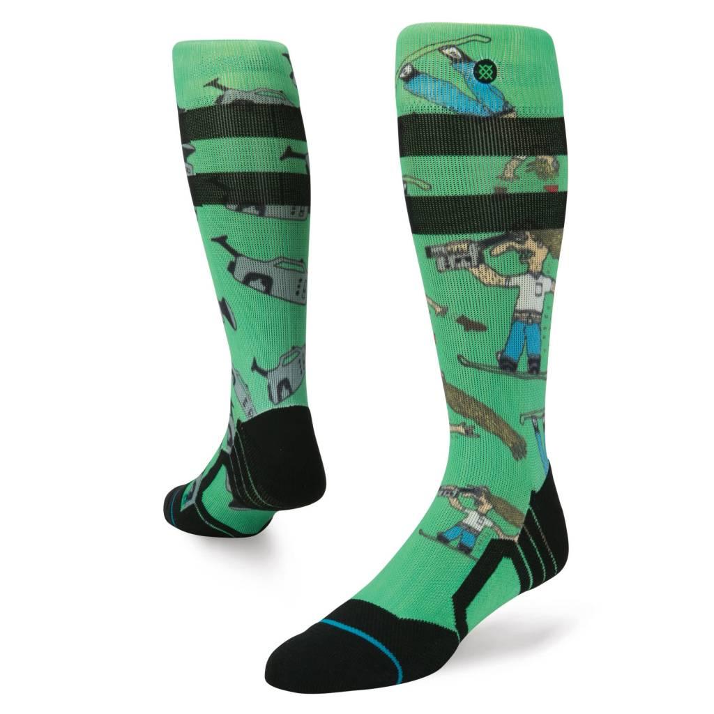 STANCE Stance Mens Dad Cam Chris Grenier Sock Green -Grn (17/18)