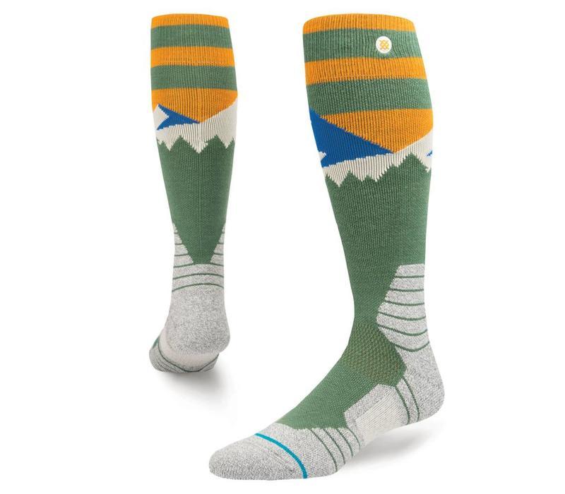 Stance Mens Long Way Sock Green -Grn (17/18)