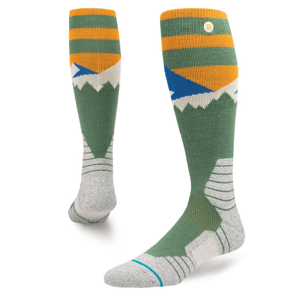 STANCE Stance Mens Long Way Sock Green -Grn (17/18)