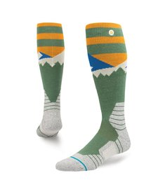 Stance Mens Long Way Sock Green -Grn (17/18)