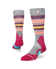 Stance Womens Hot Creek Sock Wine -Win (17/18)