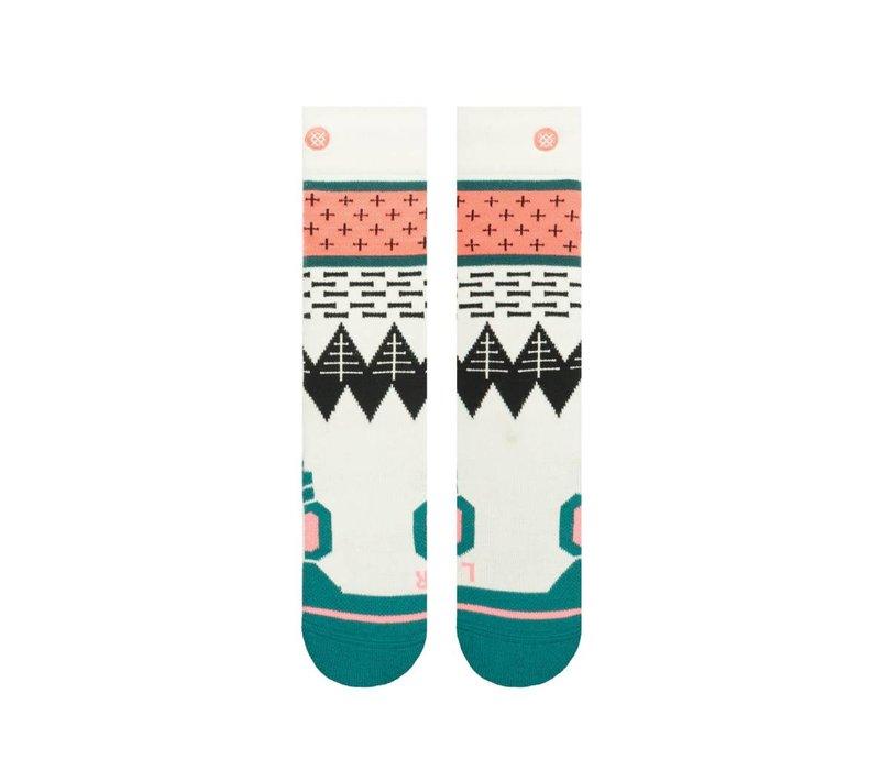 Stance Girls Outland Kids Sock Black -Blk (17/18) L