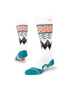 Stance Girls Outland Kids Sock Black -Blk (17/18) L
