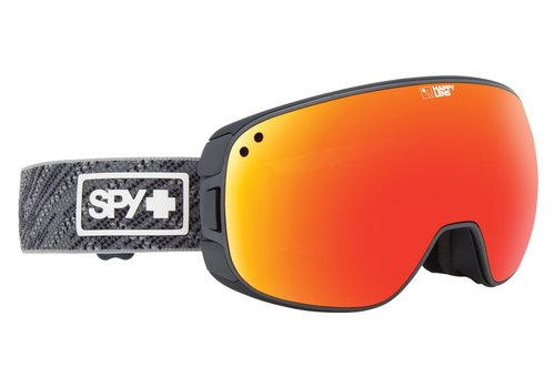 SPY Spy Bravo Spy Knit Gray-Happy Gray Green W/Red Spectra+Happy Yellow W/Lucid Green Goggle - (17/18)