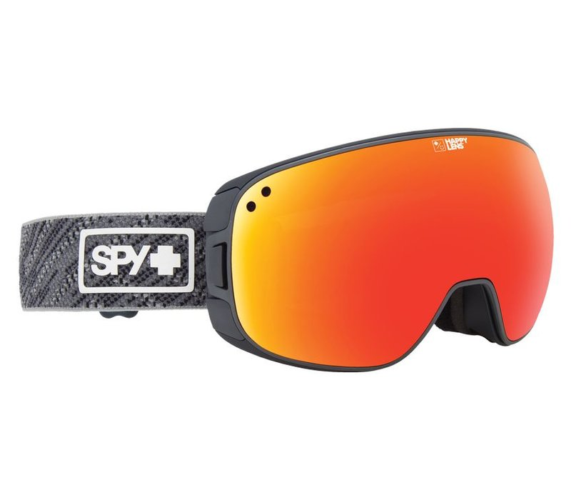 Spy Bravo Spy Knit Gray-Happy Gray Green W/Red Spectra+Happy Yellow W/Lucid Green Goggle - (17/18)