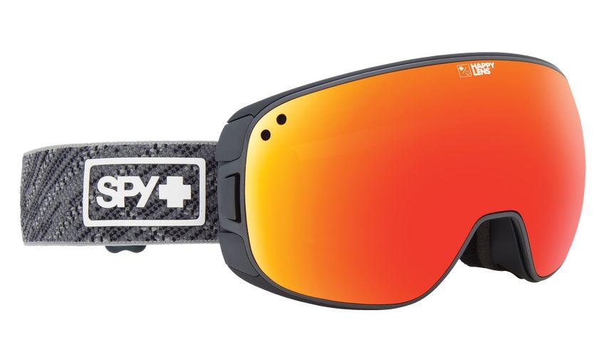 SPY Spy Bravo Spy Knit Gray-Happy Gray Green W/Red Spectra+Happy Yellow W/Lucid Green Goggle - (17/18)