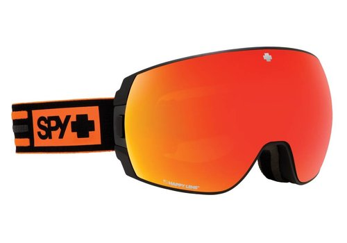 SPY Spy Legacy New School Black-Happy Gray Green W/Red Spectra+Happy Persimmon W/Lucid Silver Goggle - (17/18)