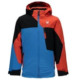SPYDER Spyder Boys Ambush Jacket 434 French Blue/Black/Burst - (17/18)