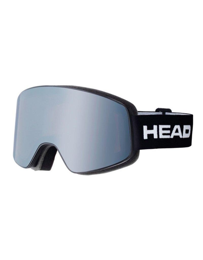 HEAD Head Horizon Race + Spare Lens Black-Lens Silver + Orange Goggle - (17/18)