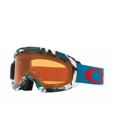 Oakley O-Frame 2.0 Xs Shady Trees Blue Red W/Persimmon - (17/18)