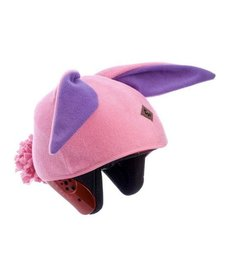 TAIL WAGS BUNNY RABBIT HELMET COVER (PINK) - GIRLS