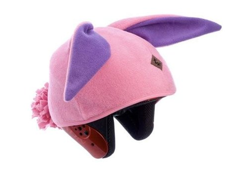 TAIL WAGS TAIL WAGS BUNNY RABBIT HELMET COVER (PINK) - GIRLS