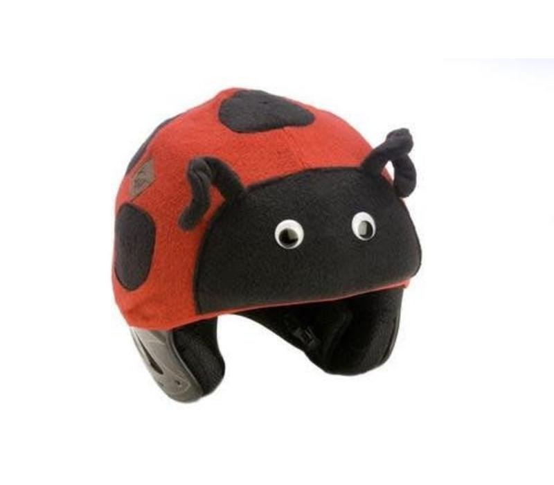 TAIL WAGS LADYBUG HELMET COVER - ADULT