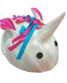 TAIL WAGS UNICORN HELMET COVER - ONE SIZE