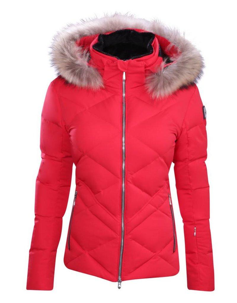 DESCENTE Descente Ladies Anabel Down Jacket Erd-Electric Red -85 (17/18)