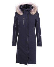 Descente Ladies Quebec Long Coat Bk- Black -93 (17/18)