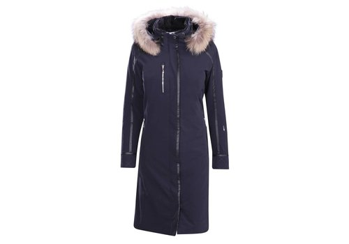 DESCENTE Descente Ladies Quebec Long Coat Bk- Black -93 (17/18)