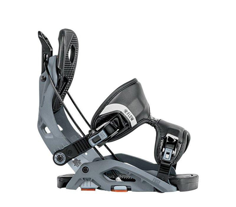 Flow Mens Fuse Snowboard Binding Gunmetal -Gun (17/18)
