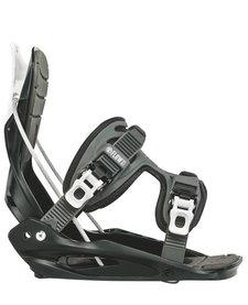 Flow Jr Micron Youth Snowboard Binding Black -Blk (17/18)