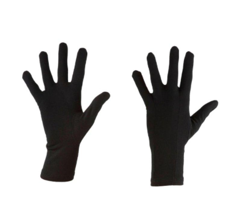 Icebreaker Adult Oasis Glove Liners Black -1 (17/18)